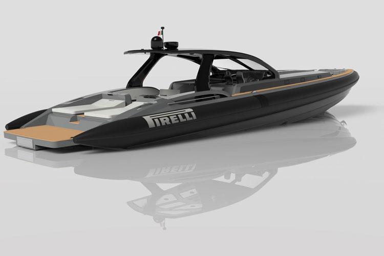 bateau  Pirelli 1900