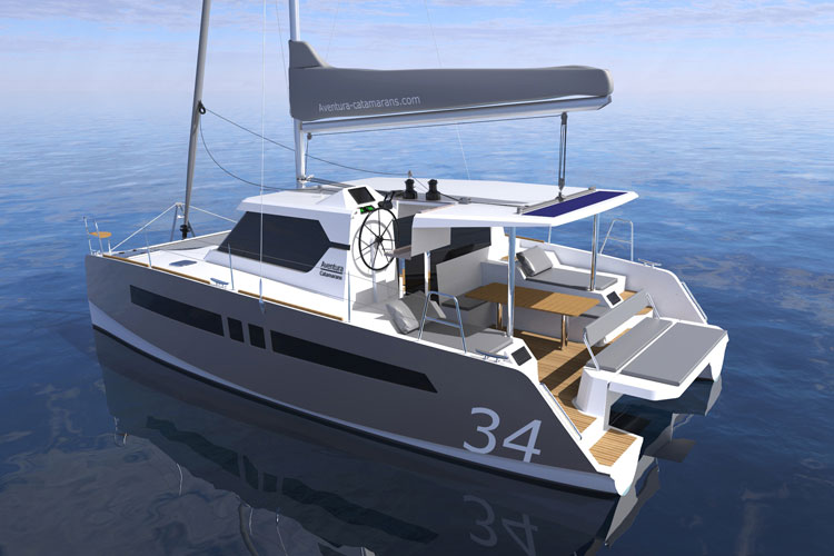 voilier Aventura 34 Yachting France