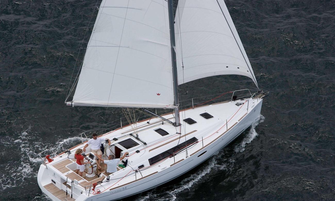 Oceanis 34 de Christophe Girardon