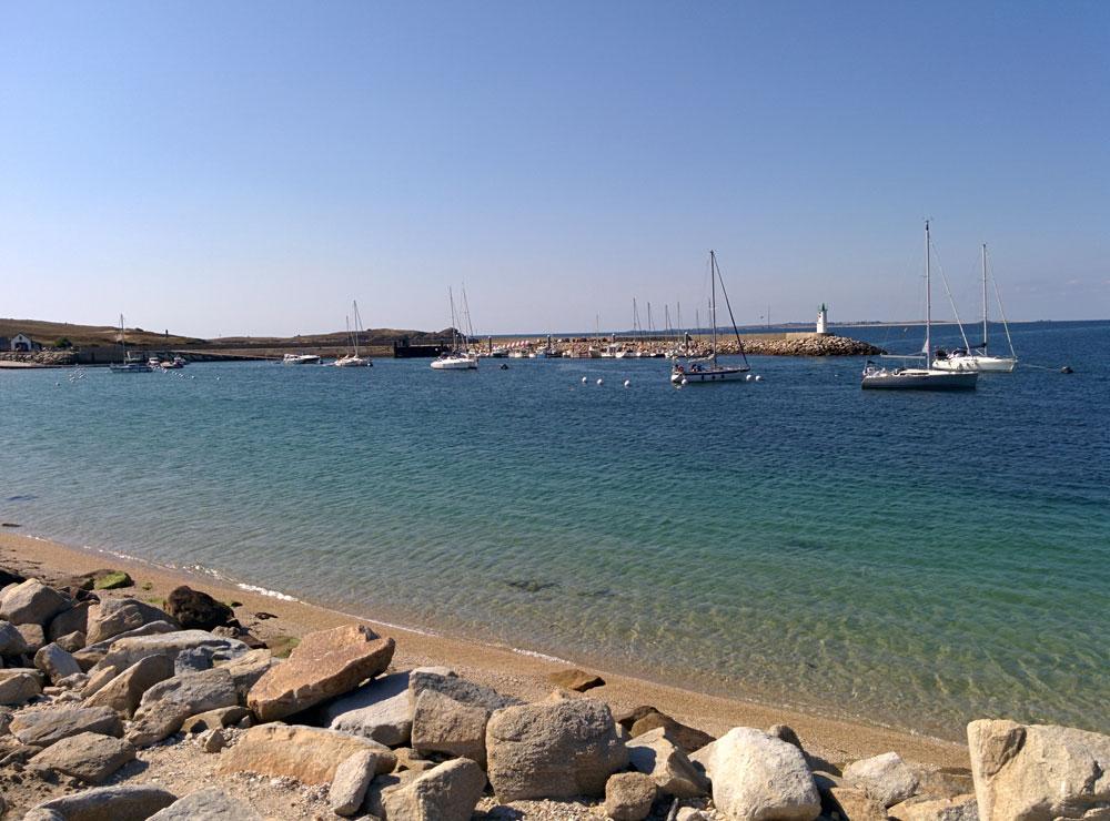 Île de Hoëdic - Port de l'Argol - Port de plaisance