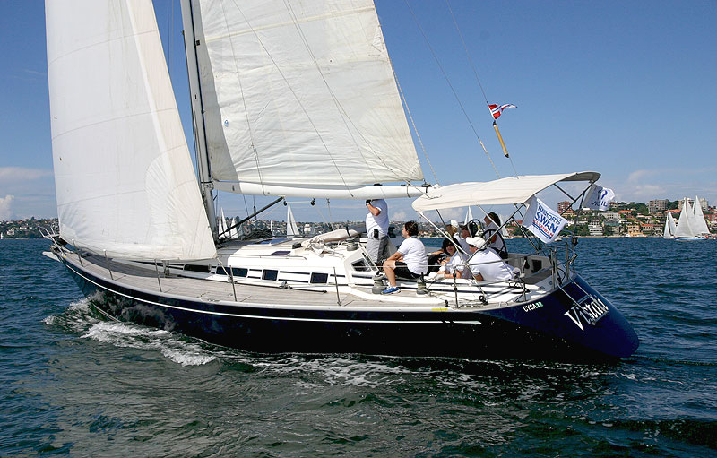 voilier Swan 40 Frers