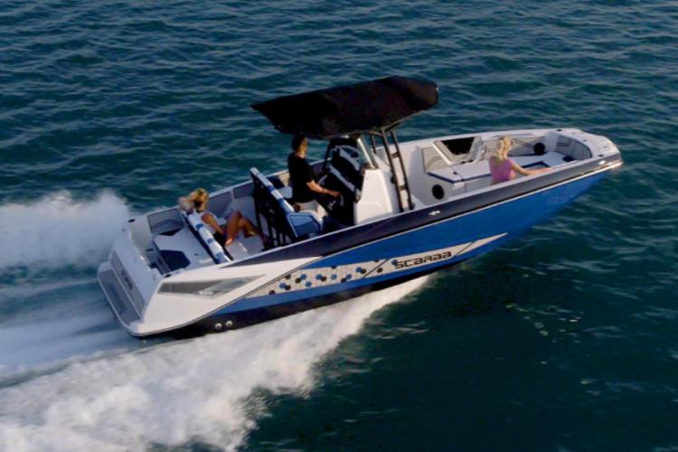 bateau Parker 255 Open ID