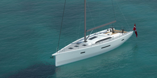 voilier XP 55 Fountaine Pajot