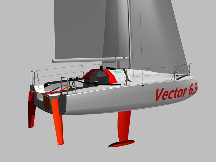 voilier Vector 6.5