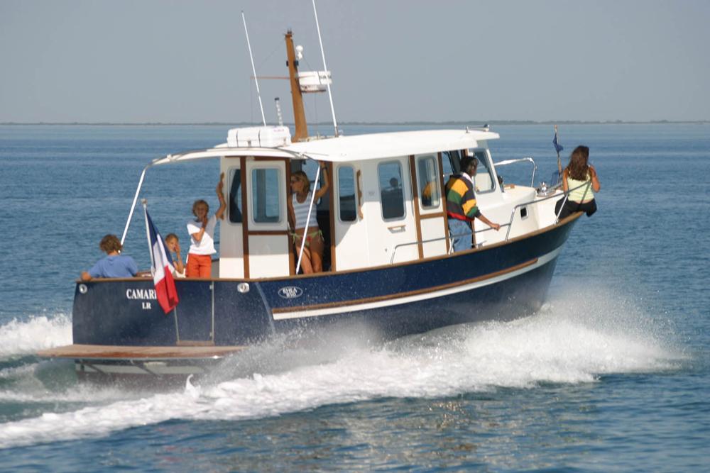 bateau Rosewest Rhéa 850 Timonier