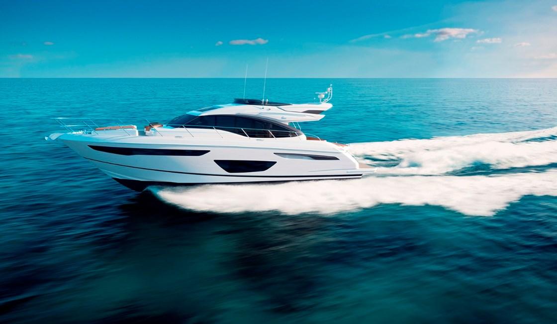 bateau  Princess S60