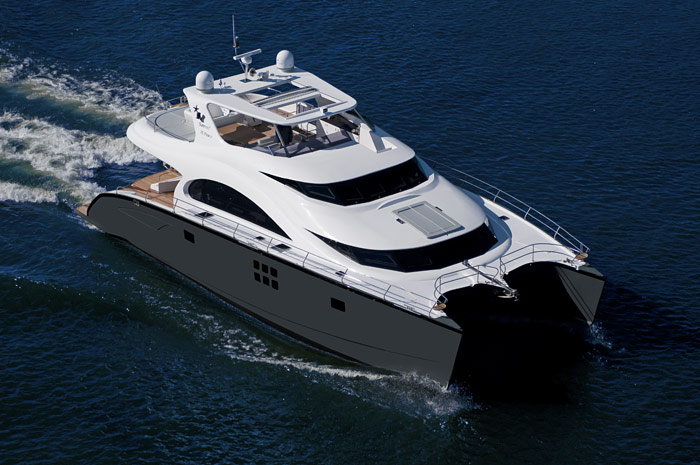 bateau Karnic Sunreef 70 Power
