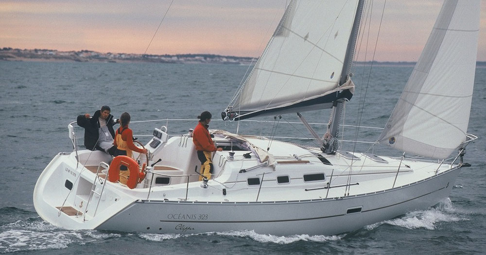 Oceanis Clipper 323 de daniel DEMANTKE