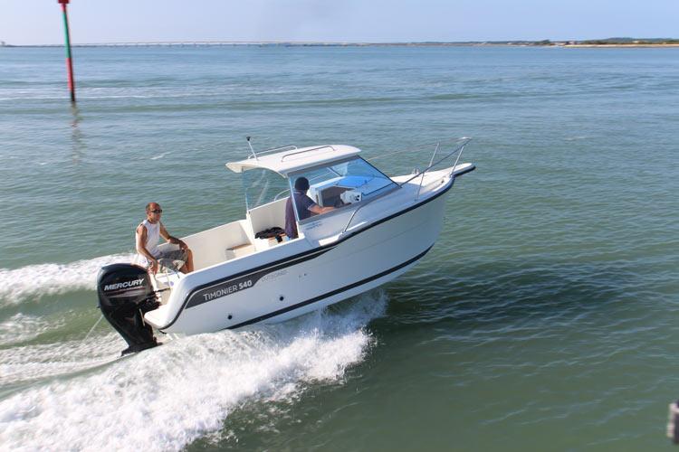Timonier 540 Outboard de Claude Allain