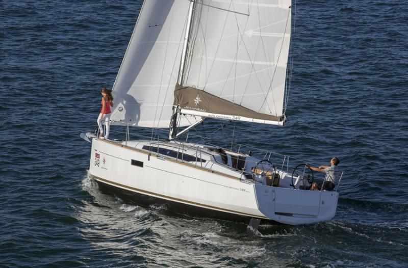voilier Sun Odyssey 349 Columbia Yachts