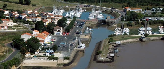 Meschers-sur-Gironde - port de plaisance