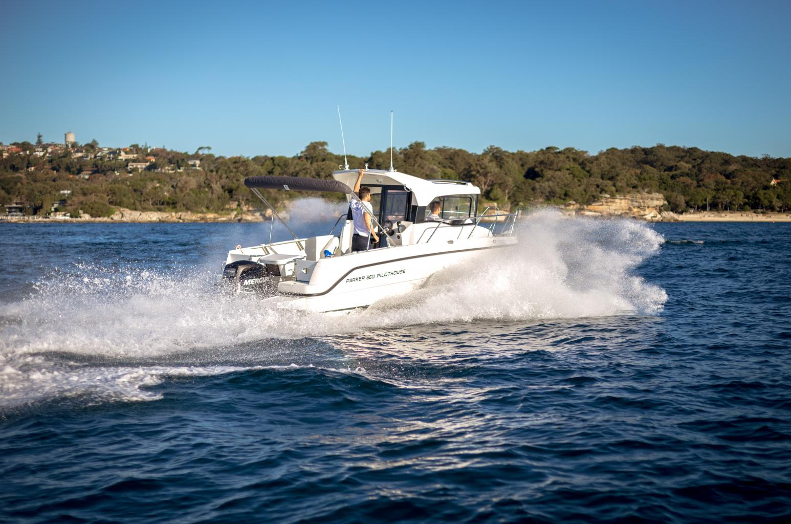Parker 660 Pilothouse de