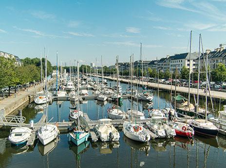 Caen - Bassin Saint-Pierre - Port de plaisance