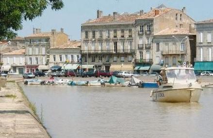 Blaye - Port de plaisance