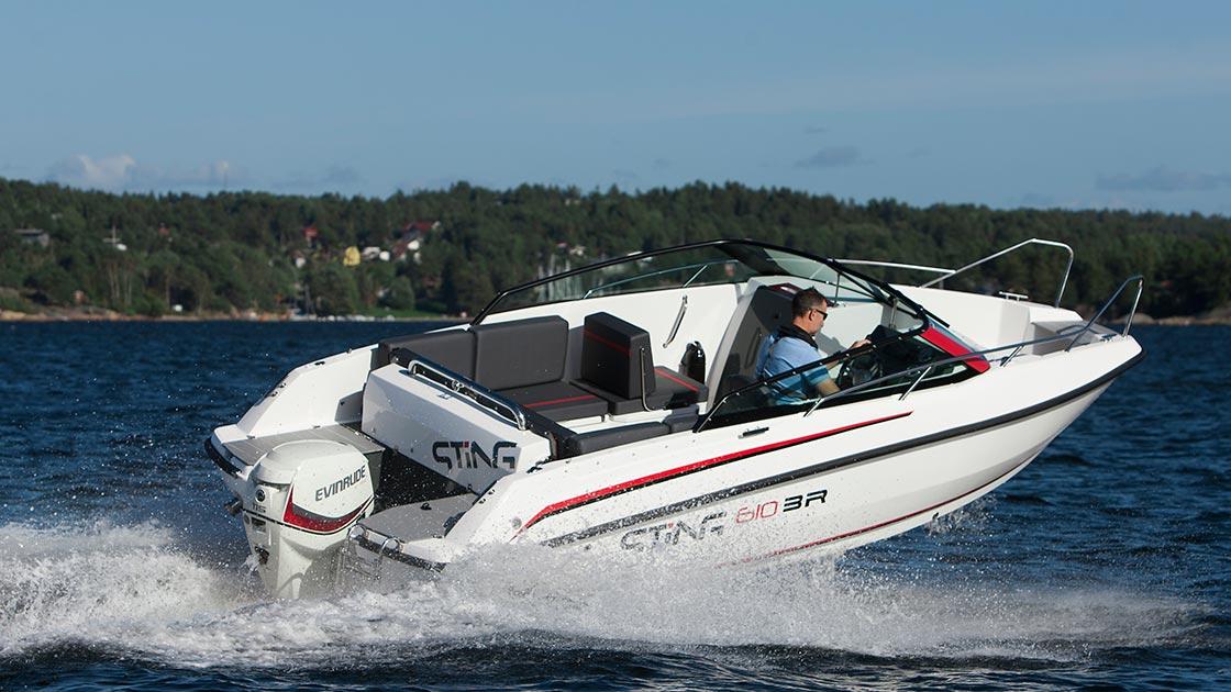 bateau  Sting 610 BR