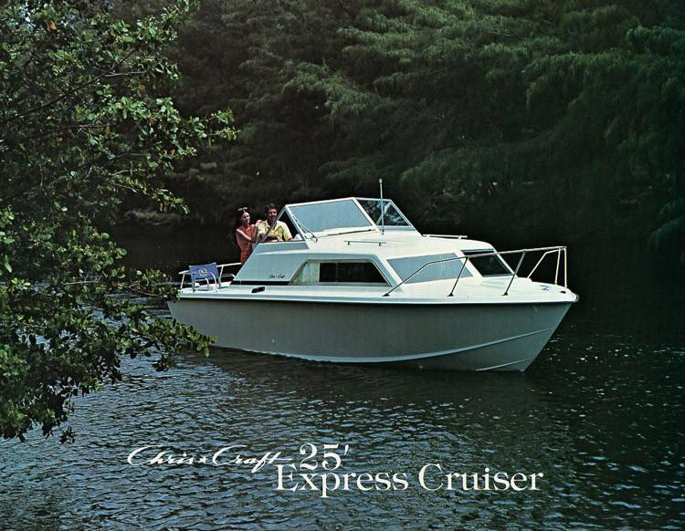 25 Express Cruiser de Guy Capra