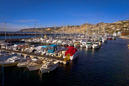 Marseille - L'Estaque - port de plaisance