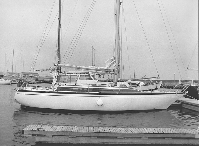 voilier Brise de Mer 38 Outremer Yachting