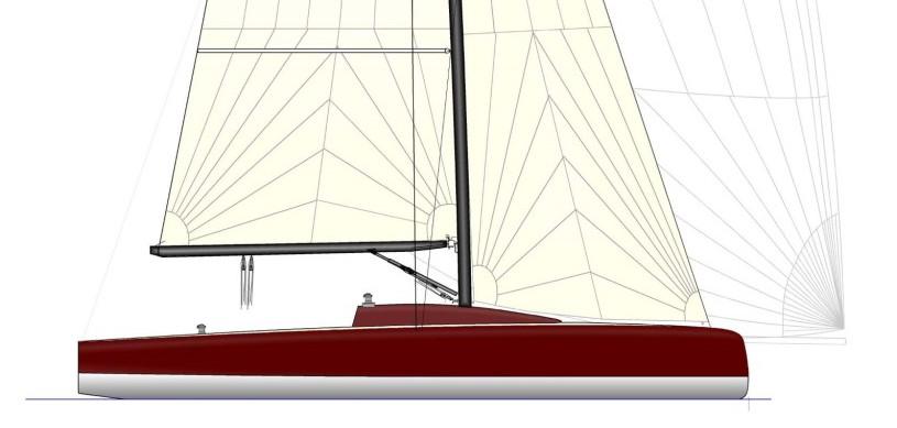 voilier LA 35 Chantier Naval Tricat