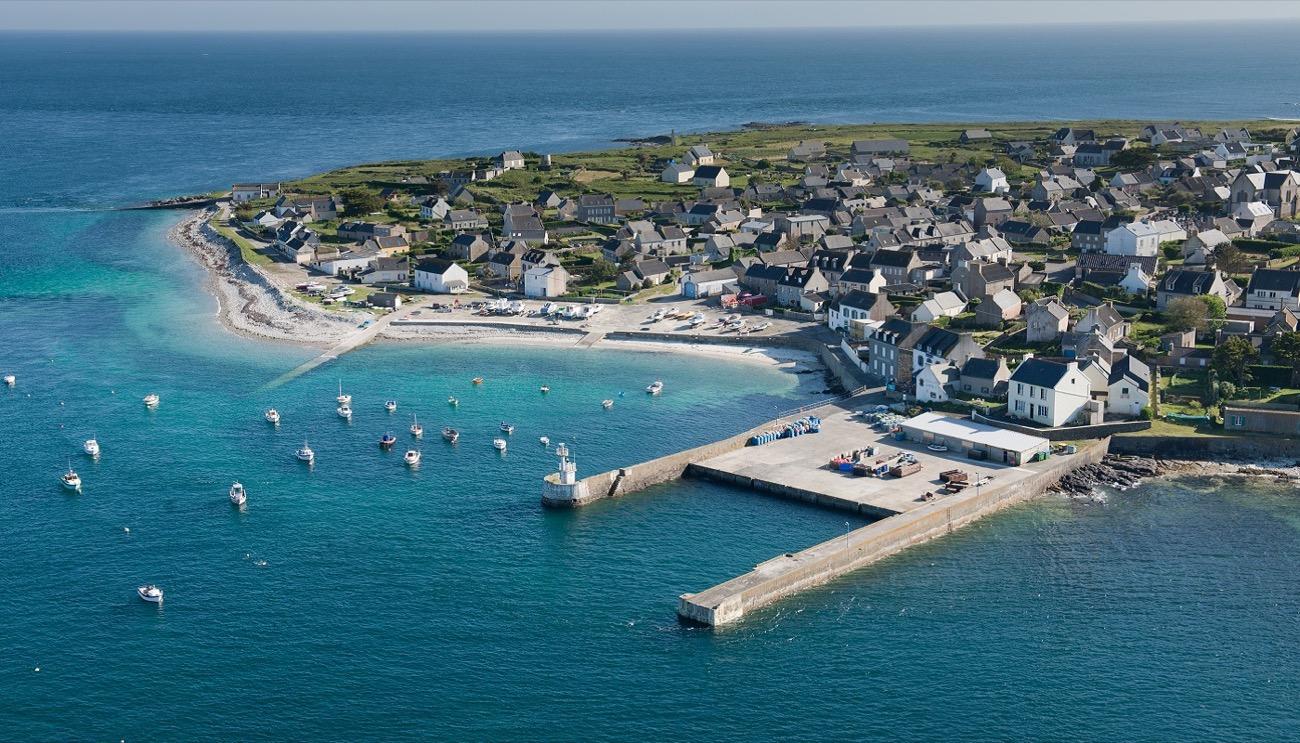 Île de Molène - port de plaisance