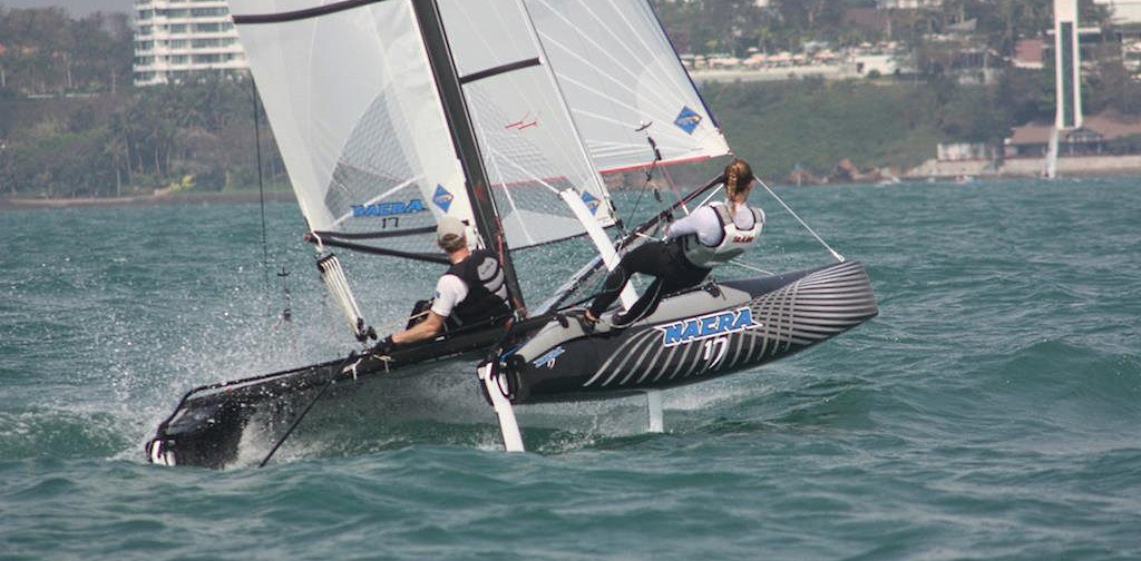 voilier Nacra 17 Olympic