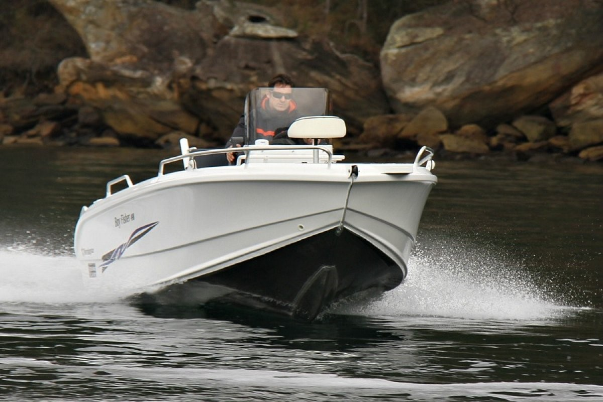 bateau Selection Boats 498F Bay Fisher