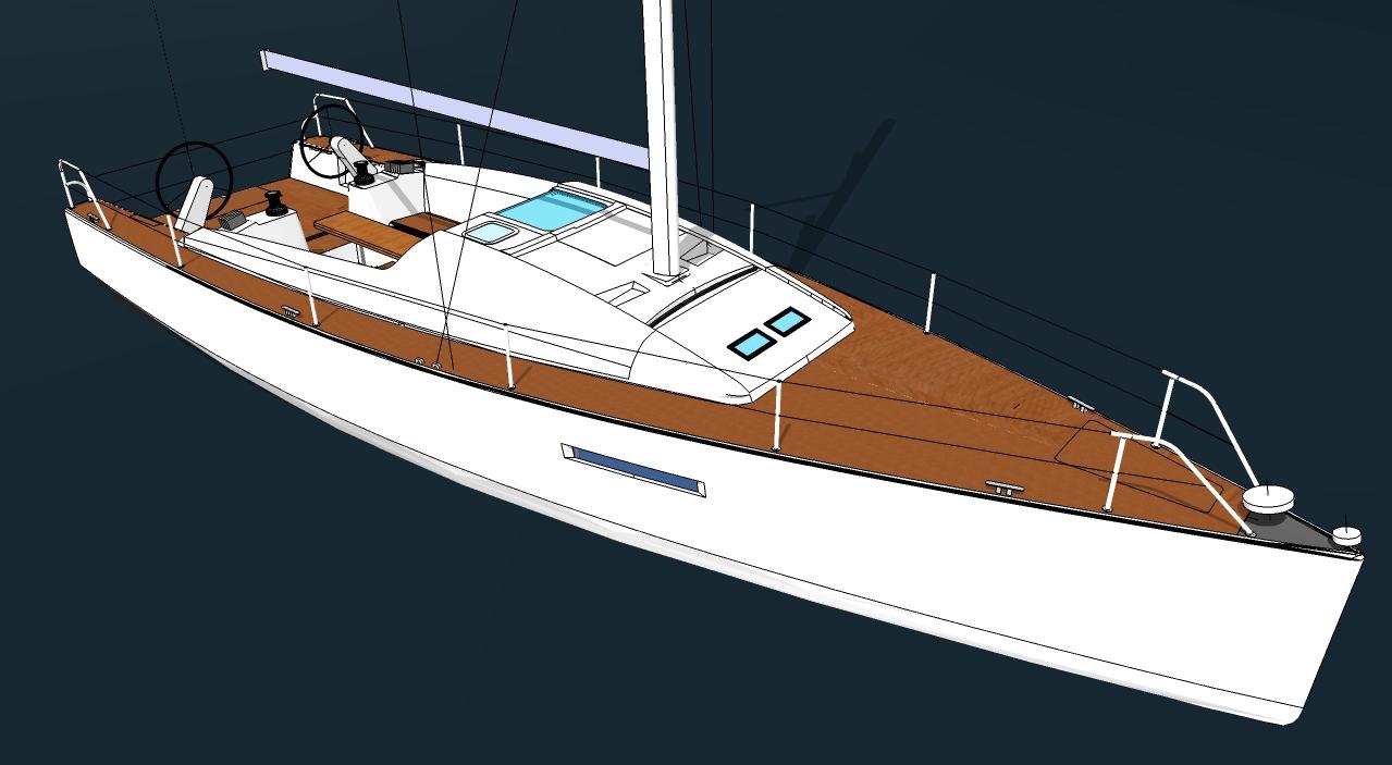voilier Ponza 35
