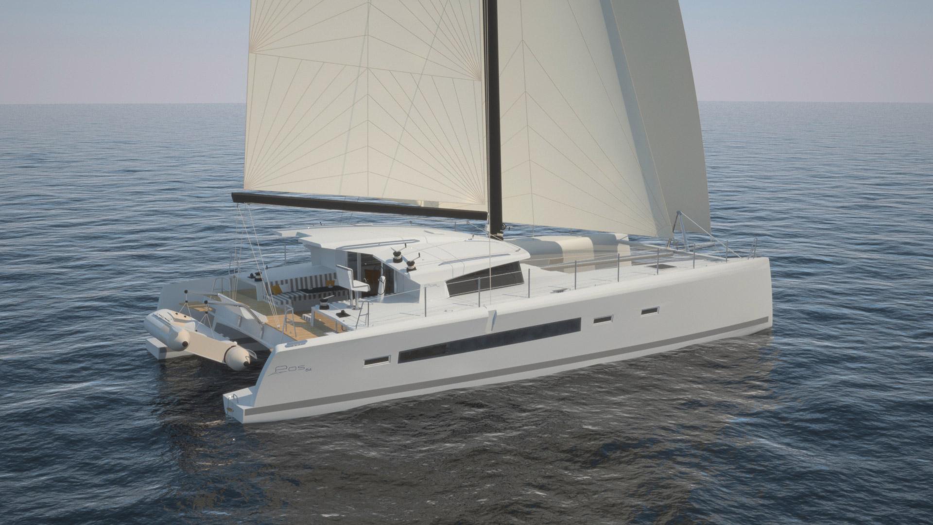 bateau Blue Water Yachts EOS 54