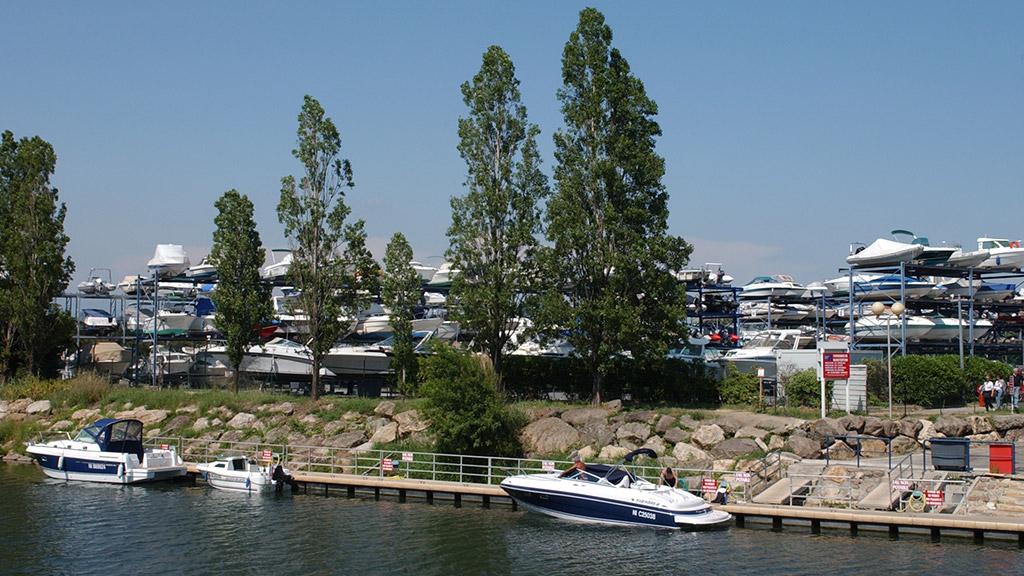 Mandelieu-la-Napoule - Port Inland - port de plaisance