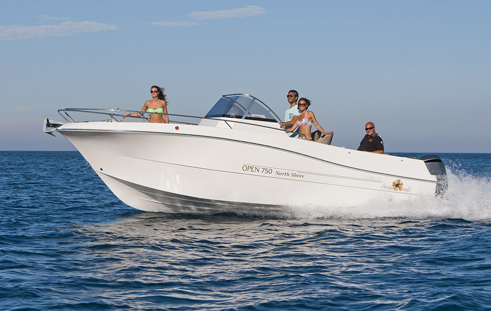 Pacific Craft 750 Open de