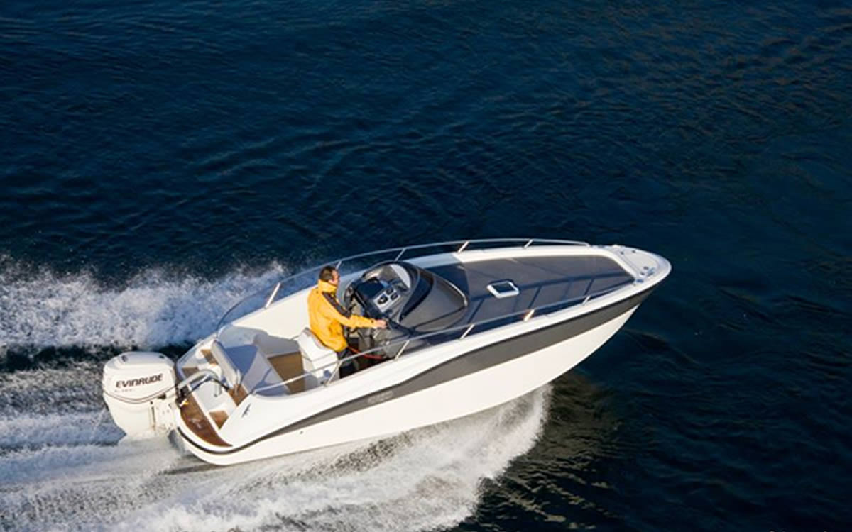 bateau Boston Whaler Aries Cabin