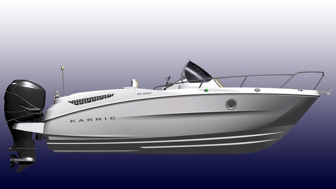 bateau moteur Karnic SL602