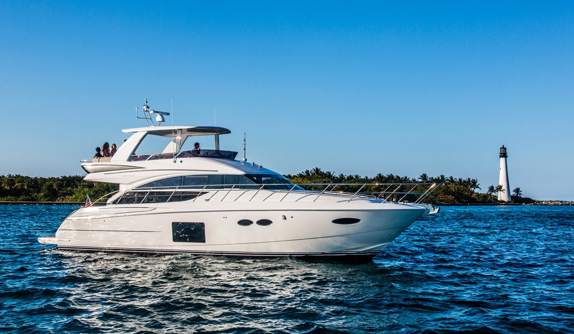 bateau Jeanneau Princess 56 Flybridge