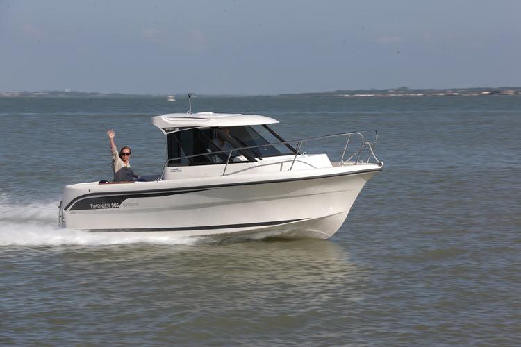 Timonier 585 Outboard de