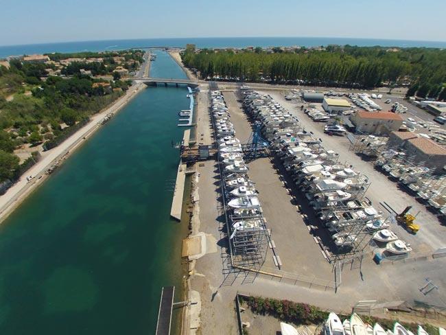 Marseillan - Port du Bateau d'Argent - port de plaisance