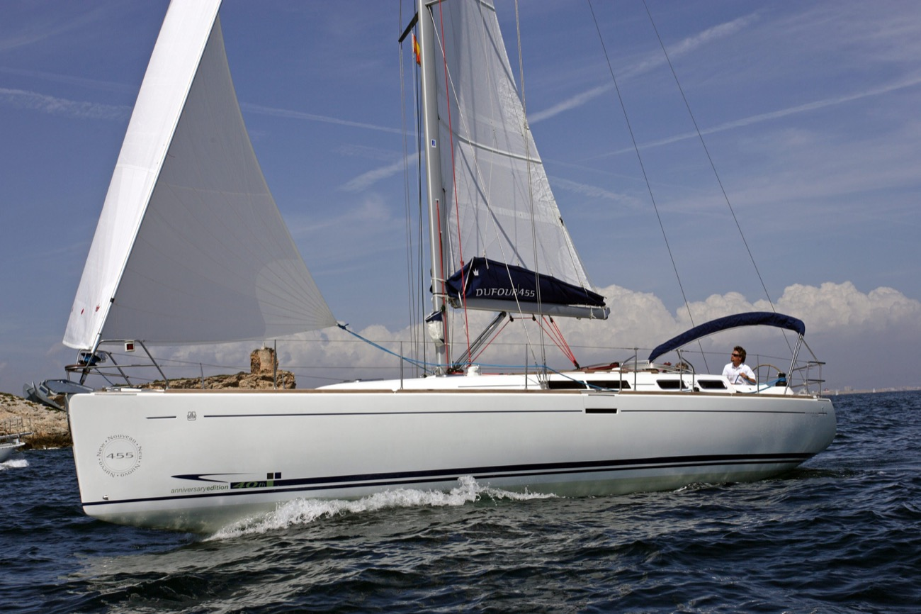 voilier Dufour 455 Grand Large Wrighton Yachts