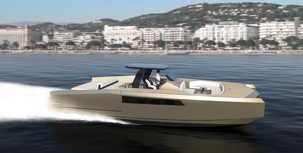 bateau moteur Princess Yachts Sunreef 40 Open Power