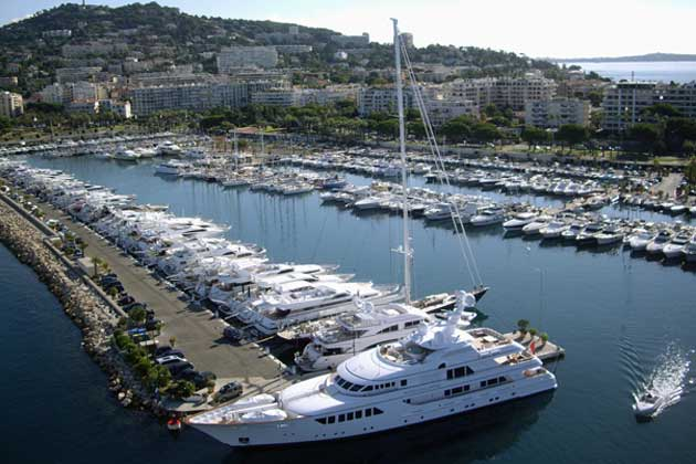 Cannes - Port Pierre Canto