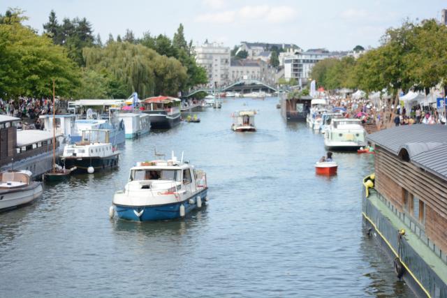 Nantes - Port de l'Erdre - port de plaisance