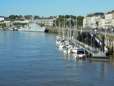 Nantes - Ponton Belem