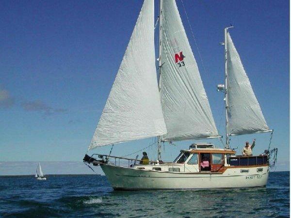 Nauticat 33 de Alardin Jacques