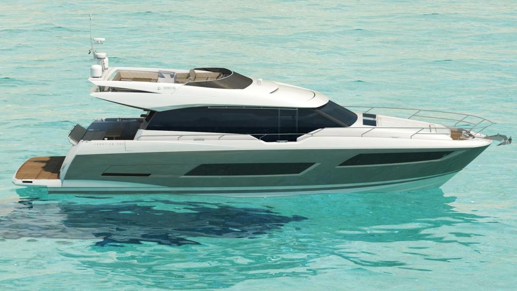 bateau Marex PRESTIGE 680S