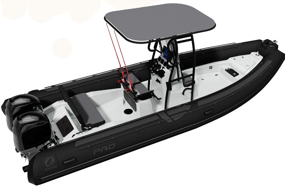 bateau ZAR FORMENTI Pro 7
