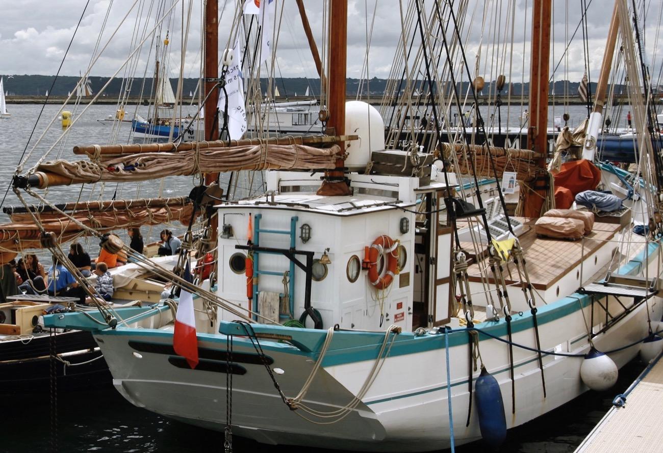 bateau  Fleur de Lampaul