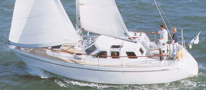 Nauticat 32 de Albert FERRETTI