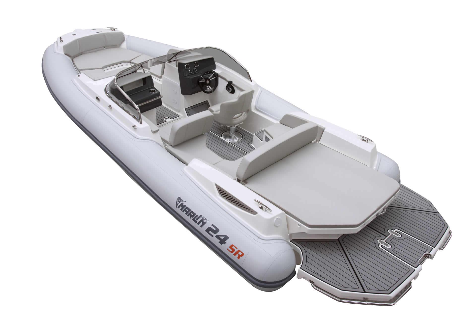 bateau moteur  Marlin 24SR