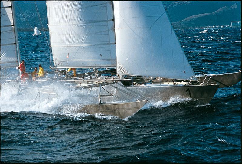 bateau  Pen Duick VI
