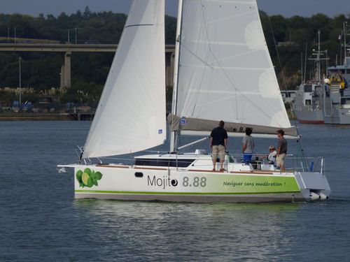 voilier Mojito 888 ACCN Triptyque
