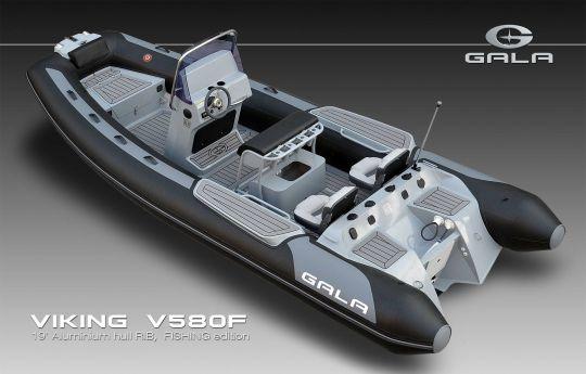 bateau moteur V580F Brig