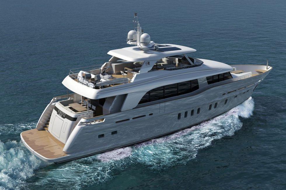 bateau Parker 94 Voyager